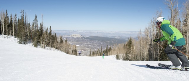 A glimpse of the unique views offered at Powderhorn.